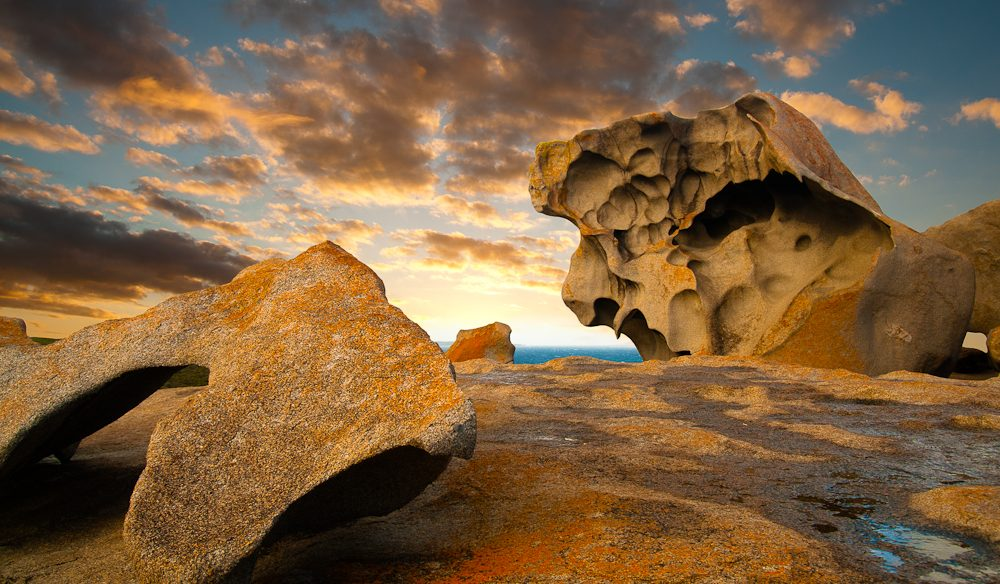 From another time: Remarkable Rocks, Flinders Chase National Park, Kangaroo Island.