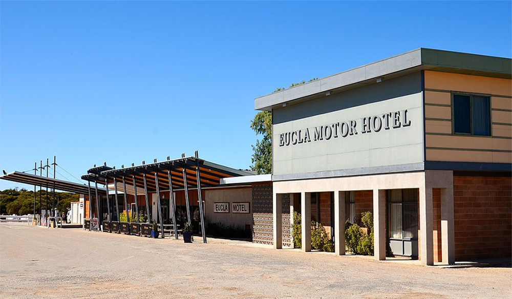 The famous Ecula hotel motel