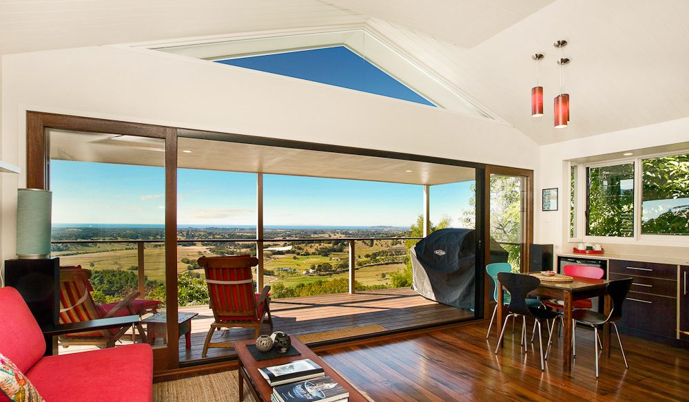 Decked out... Byron Bay hinterland accommodation option: Byron's Secret.