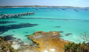 Beaches and bays all to yourself: Vivonne Bay, Kangaroo Island.