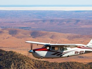 Tailor-made air safaris: Chinta Air Tours