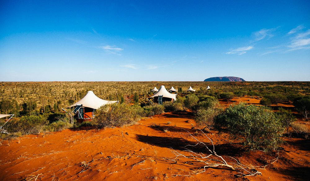 Uluru view: Longitude 131 (photo: Elise Hassey).