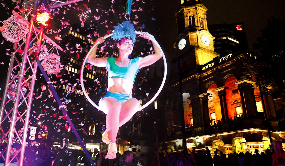 Highlights: Adelaide Fringe Parade (photo: Tony Virgo).