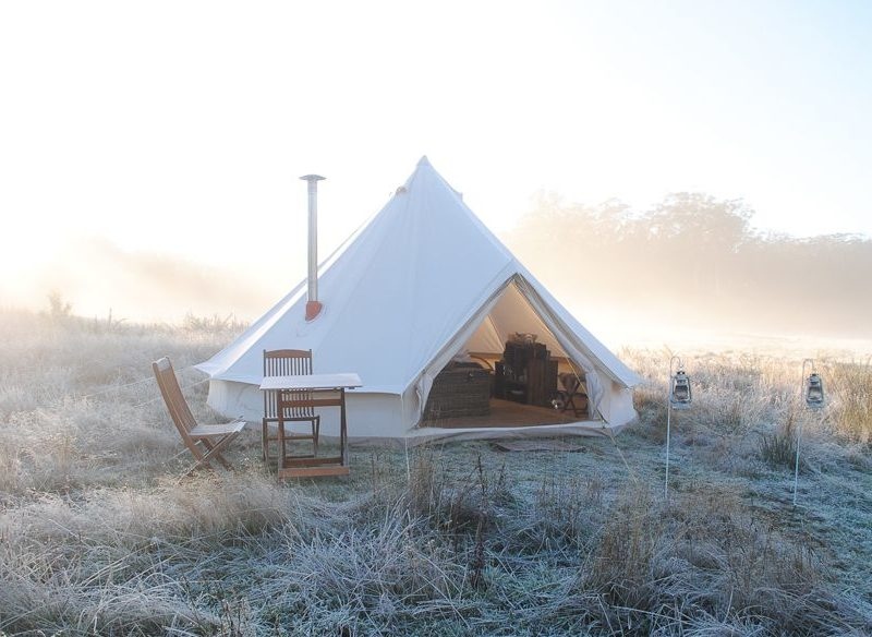 Cosy Tents glamping Daylesford