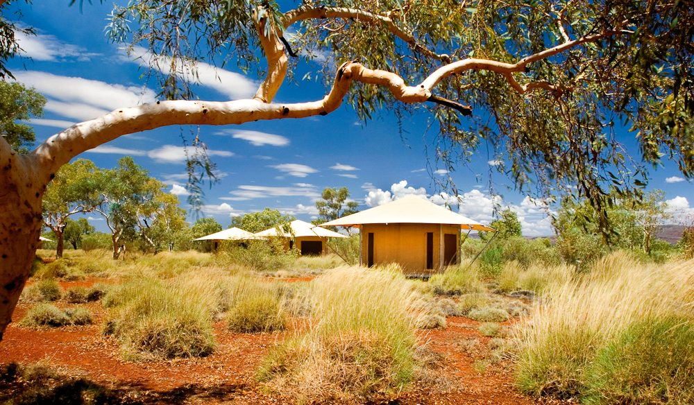 Enviro outback: Karijini Eco Retreat Eco Tents.