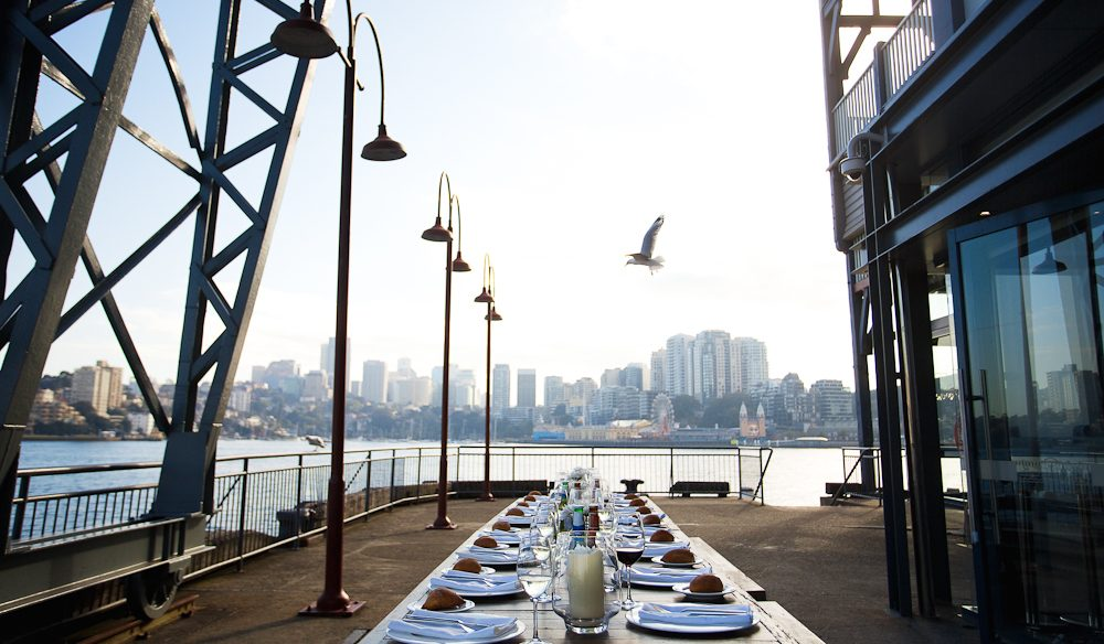 A feast for people and dogs, Pier One Sydney Harbour hotel.