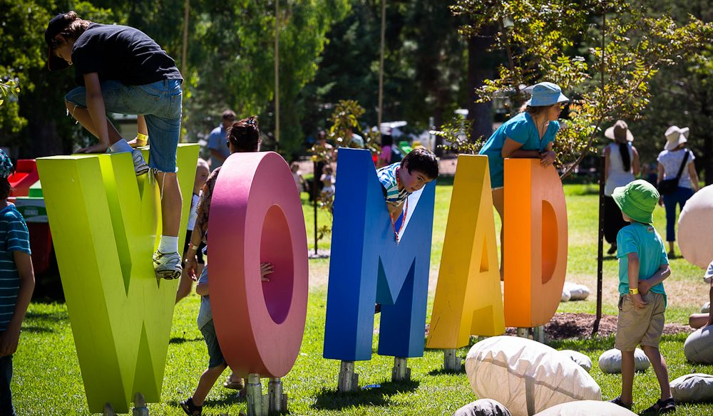 Womadelaide literally being kid friendly.