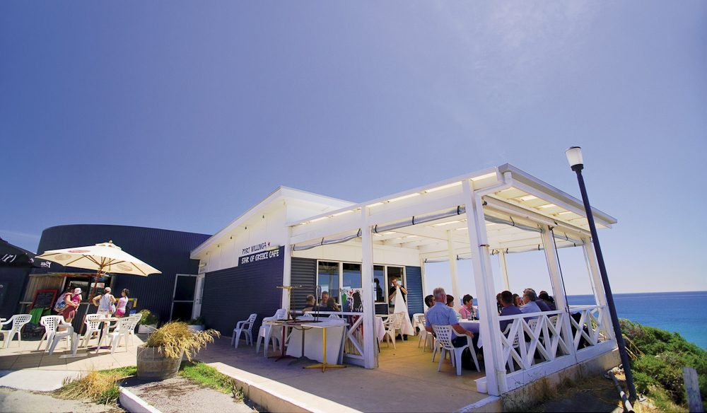 The Santorini-like Star or Greece restaurant, Port Wilunga.