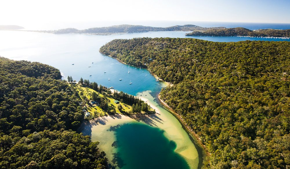 Sydney's spectacular Pittwater area.