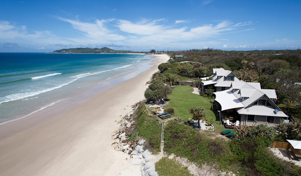 Bluewater on the Beach, Belongil Beach, Byron Bay.