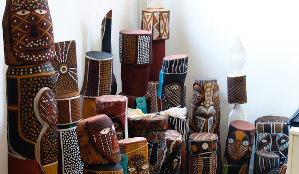 Traditional art, Tiwi Islands.