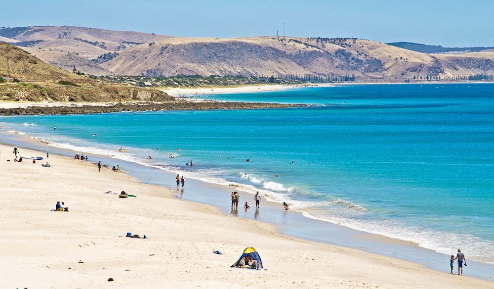 Carrickalinga Beach, Fleurieu Peninsula (photo: Graham Scheer).