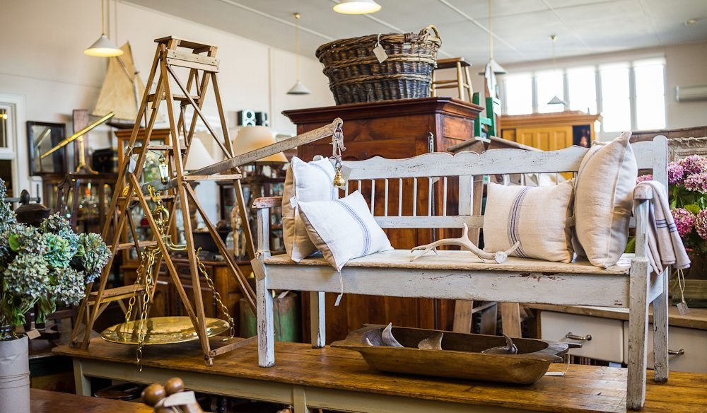 The Drill Hall Emporium, on Tasmania's antique trail.