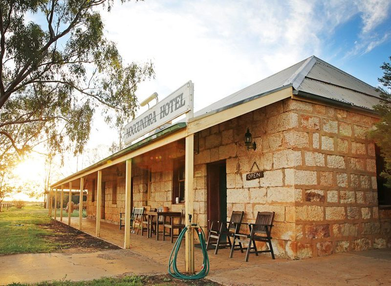 Cunnamulla on the Natural Sciences Loop outback Queensland