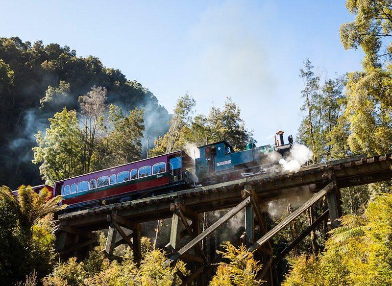 West Coast Wilderness Railway Tasmania
