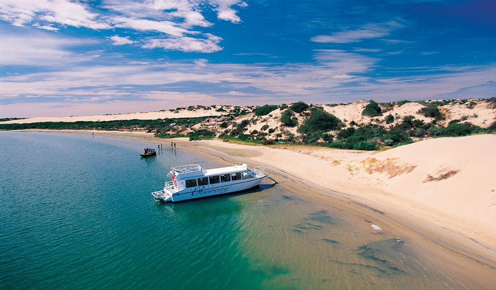 The Spirit of the Coorong tour.