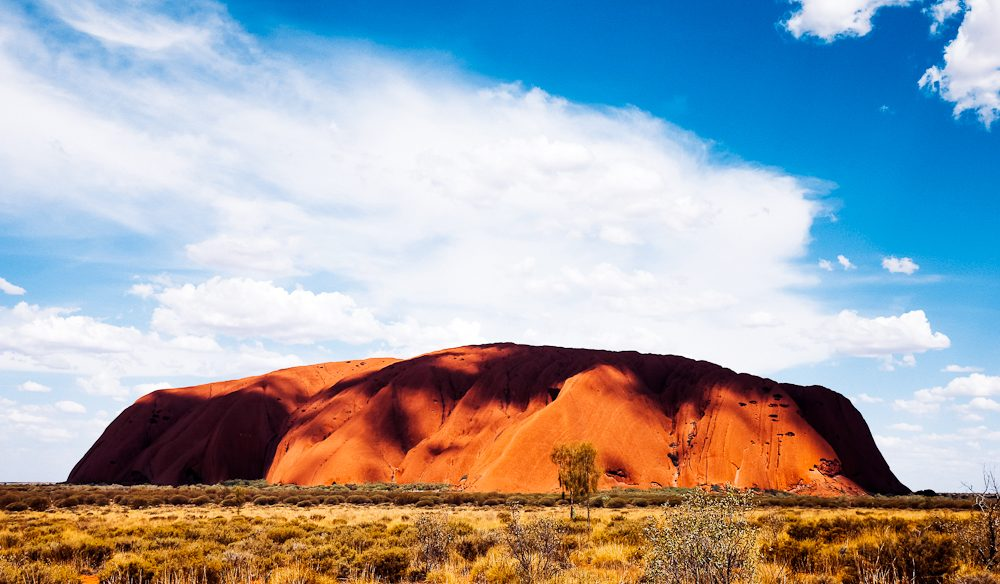 Uluru - the rock that launched a million holidays (photo: Elise Hassey).