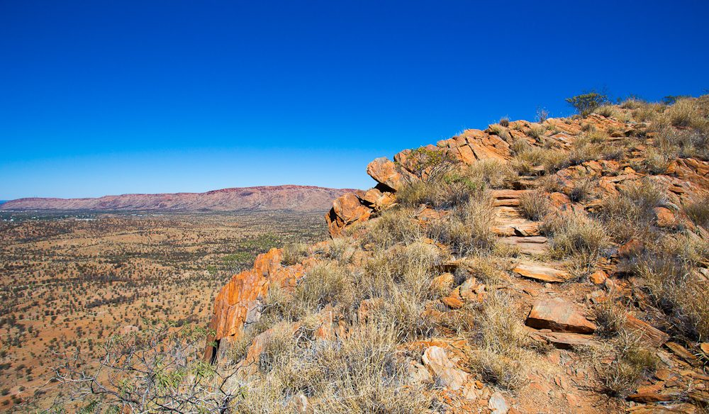 Euro Ridge, named for a type of wallaroo that inhabits the area (photo: Graham Freeman) .