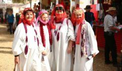 Camel Cup judges in fancy dress (photo: Jennifer Pinkerton).