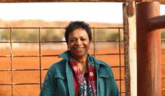 Rosalind Fulwood, descendant of Afghan cameleers (photo: Jennifer Pinkerton).
