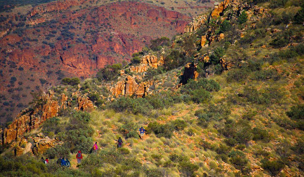 Mount Sonder Descent Larapinta Trail