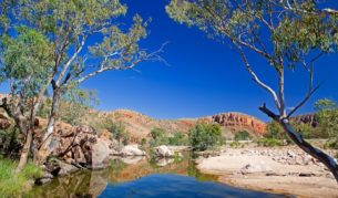 Ormiston Gorge, Larapinta Trail