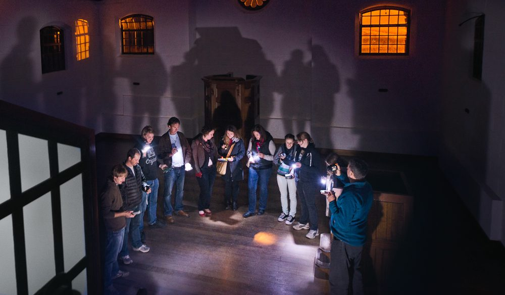 Primed for the Paranormal Investigation Experience (photo: Jonathan Wherrett).