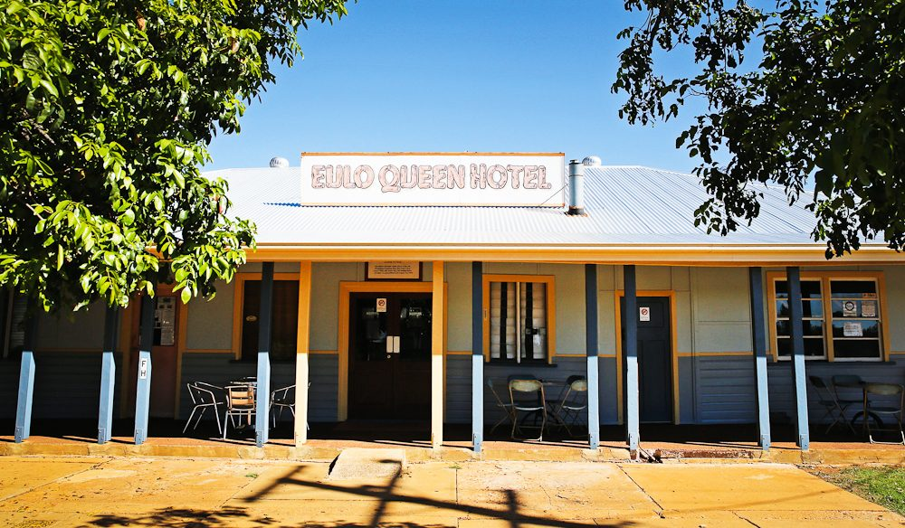 The Eulo Queen Hotel was named after 1880s publican Isabel the 'Queen of Eulo' Gray who used opals as currency and her bedroom as a gambling den (photo: Nathan Dyer).