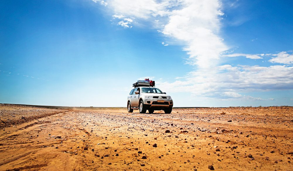 South-west Queensland is definitely 4WD territory (photo: Nathan Dyer).