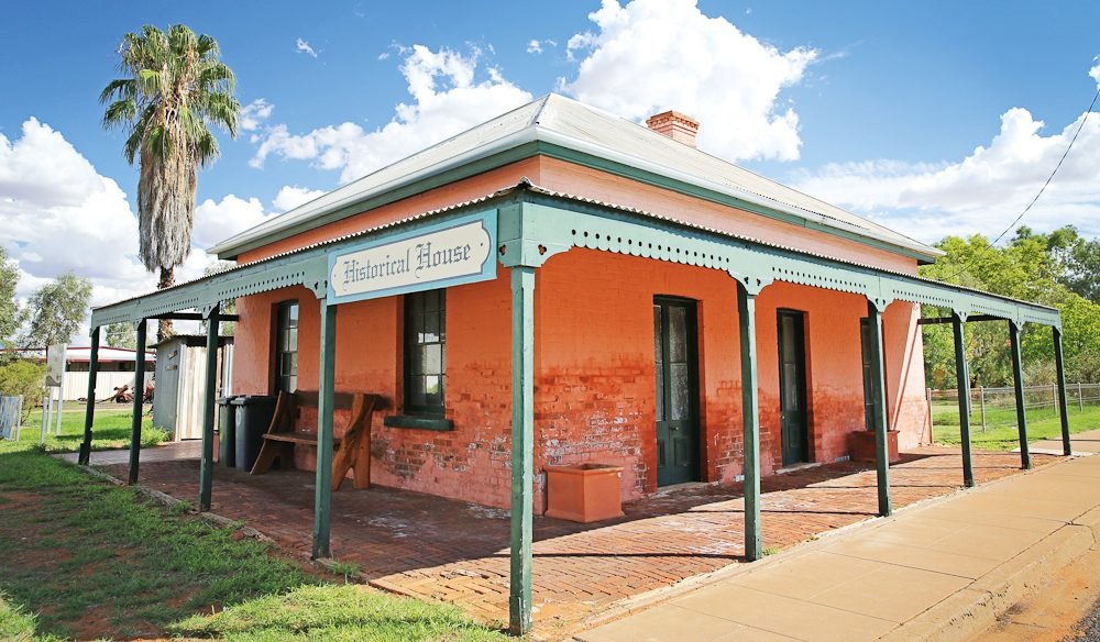 Historic Leahy House at Thargomindah was once owned by the cattleman Sir Sidney Kidman (photo: Nathan Dyer).