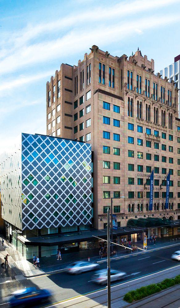 Mayfair Hotel Adelaide 'jewel box' cube