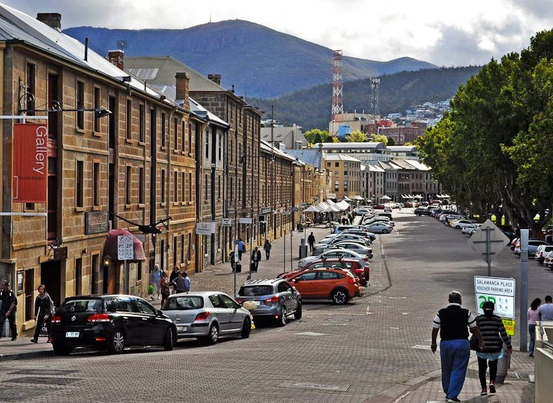 Hobart's Salamanca Place