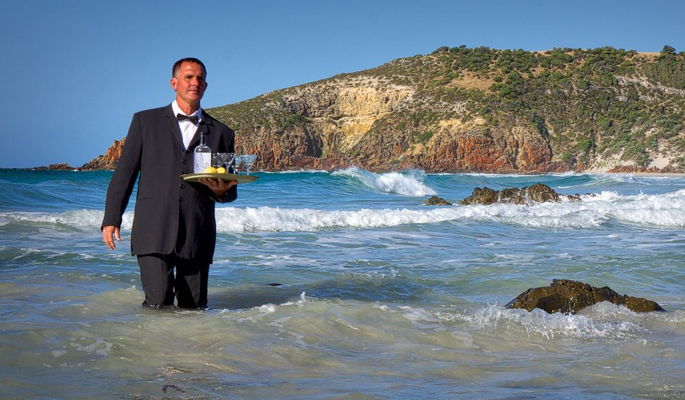 Bond, James Bond, wades into Kangaroo Island's FEASTival.