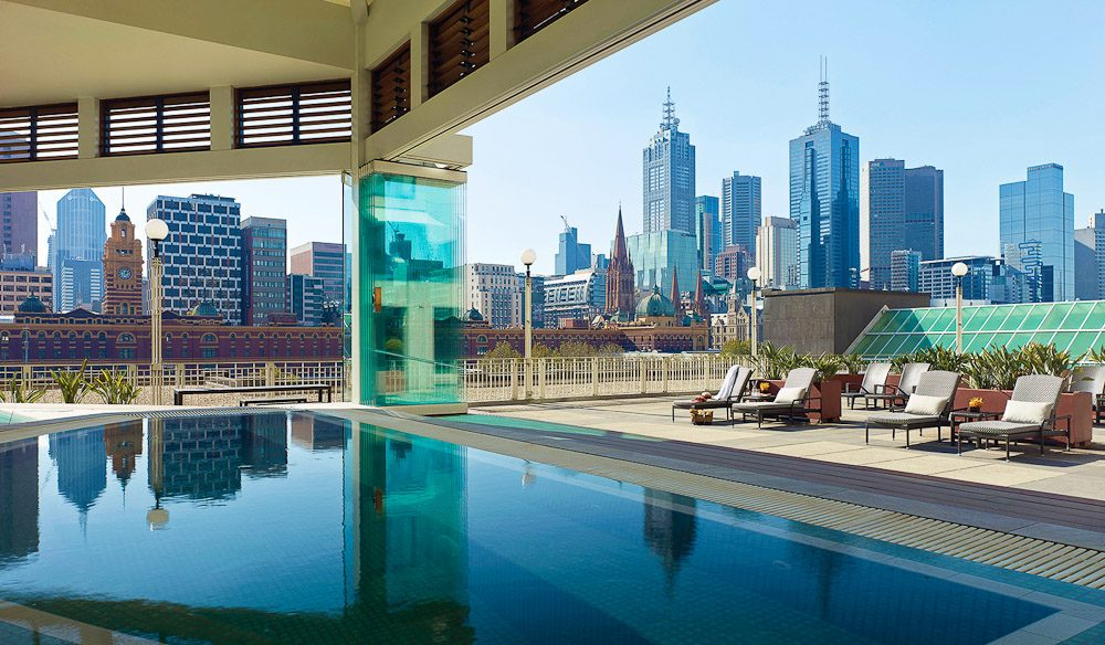 Breathtaking Views Across Melbourne S Skyline From The Chuan Spa