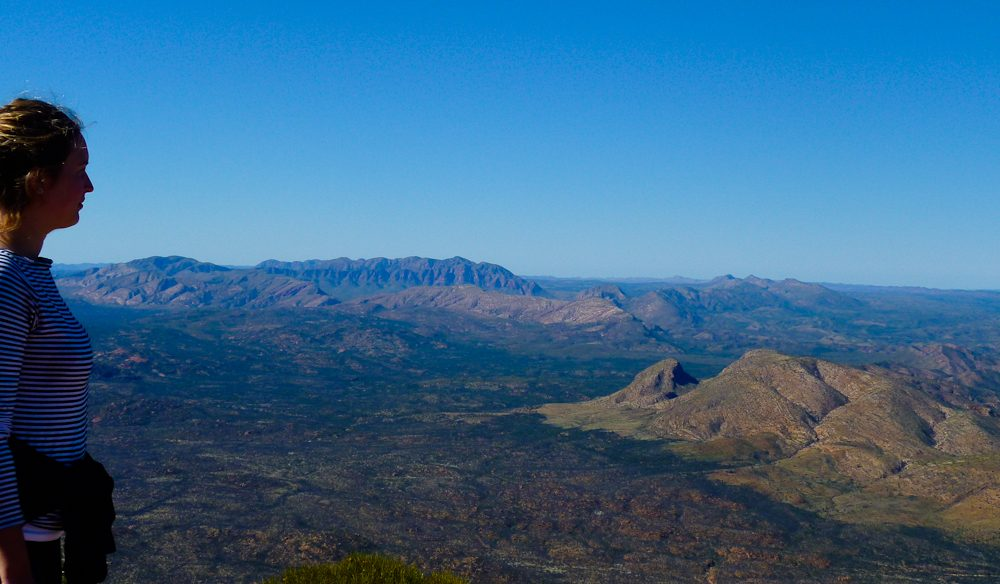 Mt Sonder and all before it, Larapinta Trail, NT.