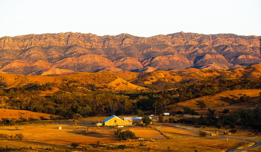 Hiker's delight Arkaba Station Flinders Ranges