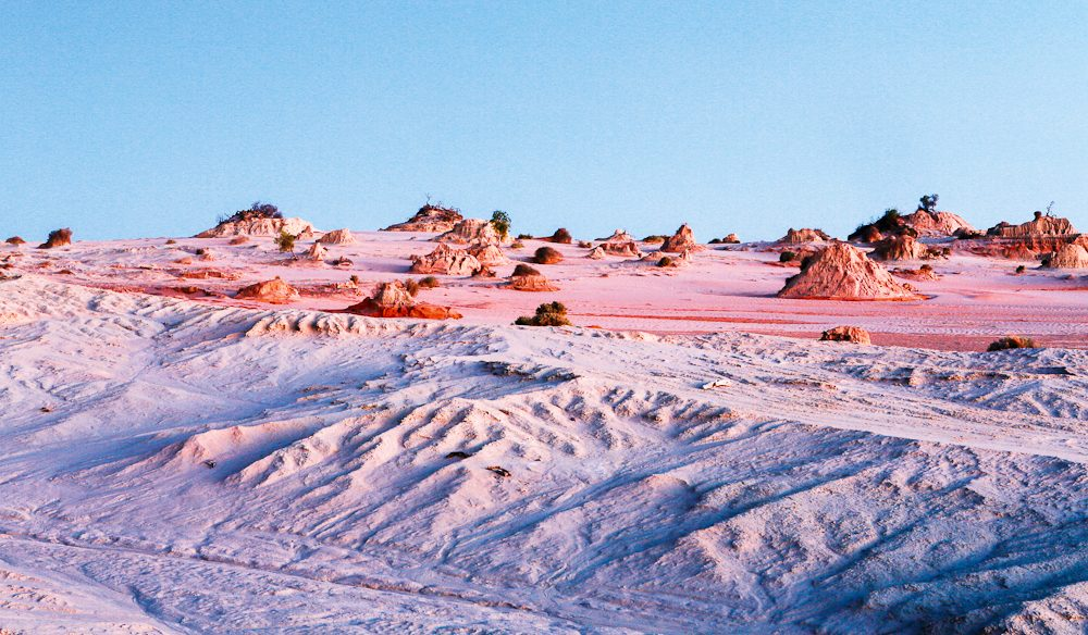 Mungo National Park - home to Mungo Man and Mungo Woman, naturally.