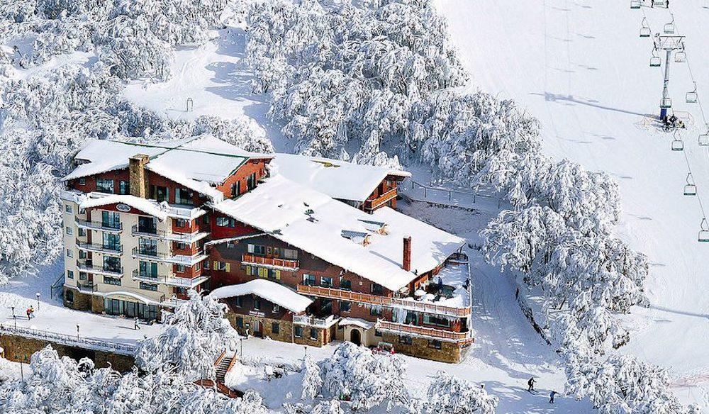 Austrian kitsch Hotel Pension Grimus Mt Buller