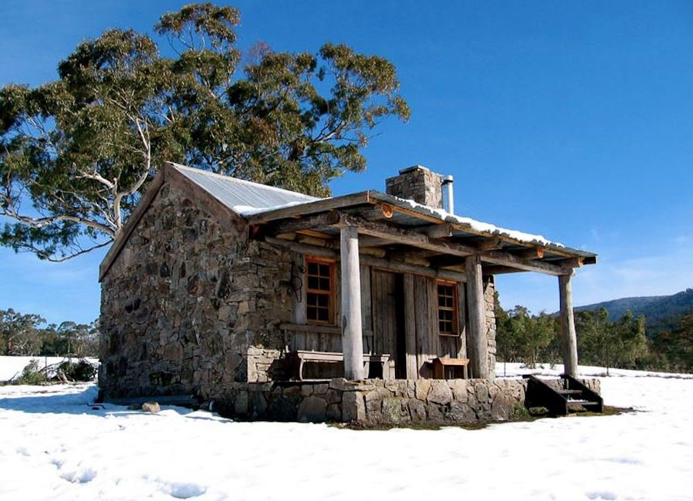 Moonbah Hut near Jindabyne