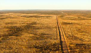 hot air balloon near Alice Springs