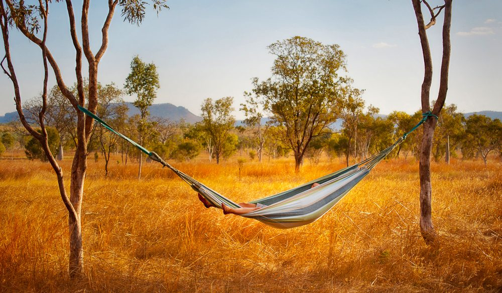 Hammock break, Kimberley, WA (photo: Nick Holdsworth).