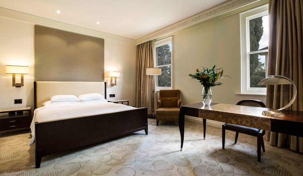 Generous proportions, Canberra's Hyatt Hotel.