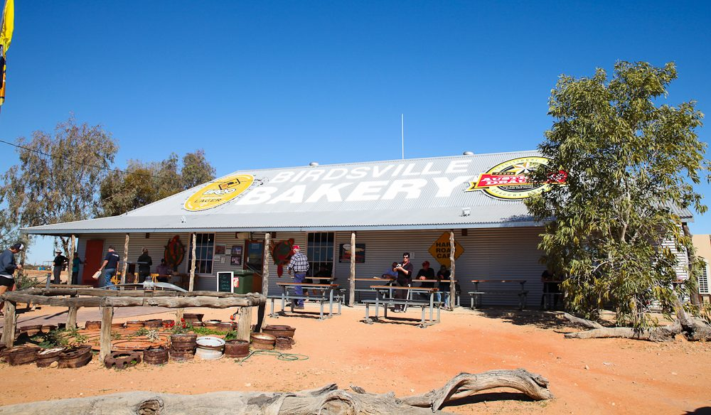 The (licensed) Birdsville Bakery, outback Queensland.