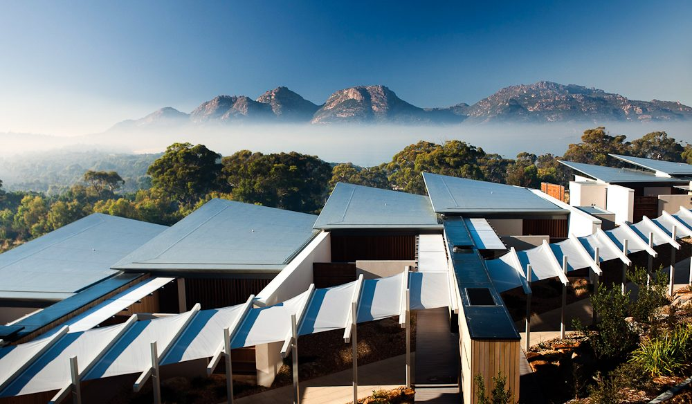 Any season luxe, Saffire Freycinet, Coles Bay, Tasmania.