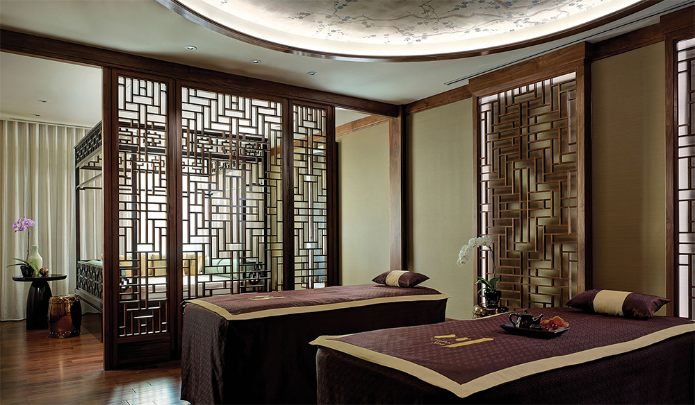 Interiors at Chuan Spa Melbourne