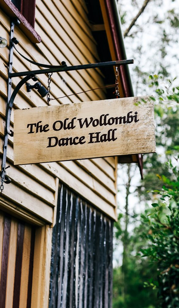 Wollombi's quaint historic Dance Hall (photo: Elise Hassey)