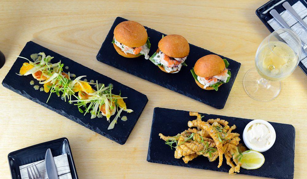 Port Macquarie seafood, best shared, The Corner Restaurant.