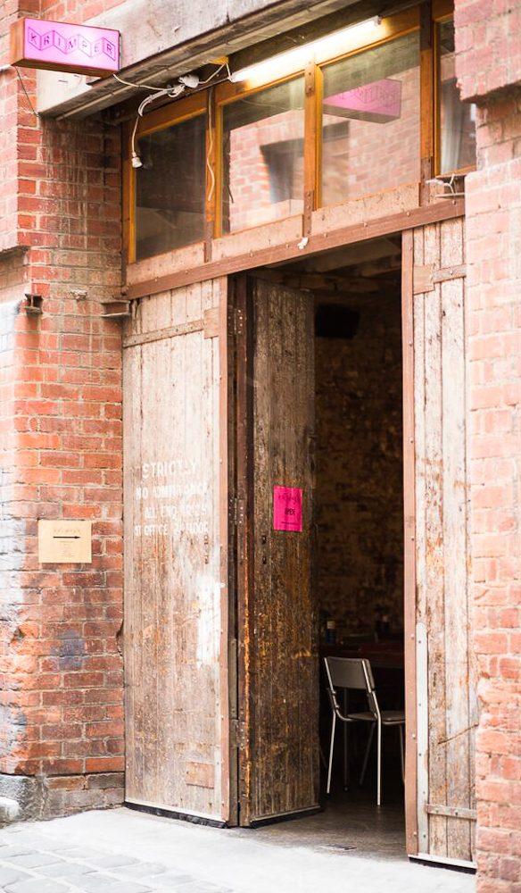 Krimper cafe Guildford Lane Melbourne