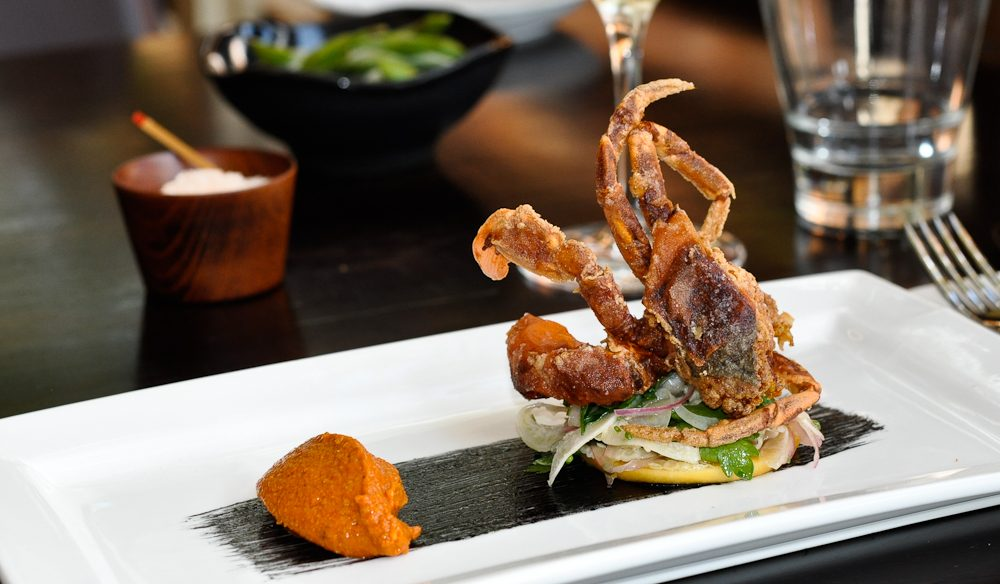 Soft shell crab, Fusion7, Port Macquarie.