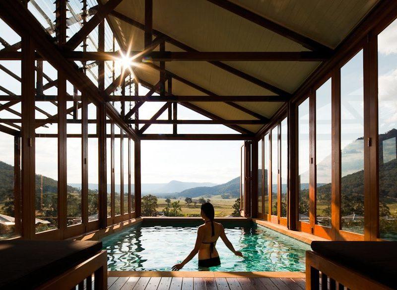Wolgan Valley Heritage Suite pool